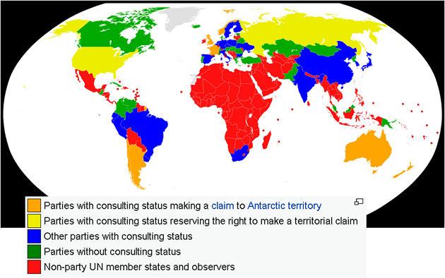 Antarctic Treaty : Reserve bank of india