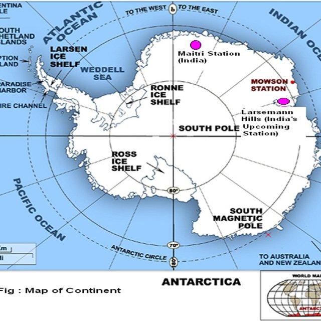Antarctica : Reserve bank of india