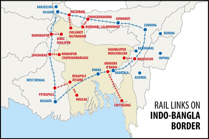 India - Bangladesh freight trains link restored