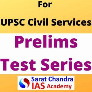 Sarat Chandra IAS Academy UPSC Civil services CSE Prelims Test Series